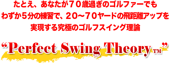 Perfect Swing Theory
